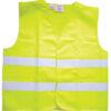 Hi Viz Jacket Yellow Adult Yellow