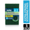 Minky Extra Strong Scouring Pads, x3
