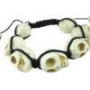 Crystal Ball Bracelet Skull