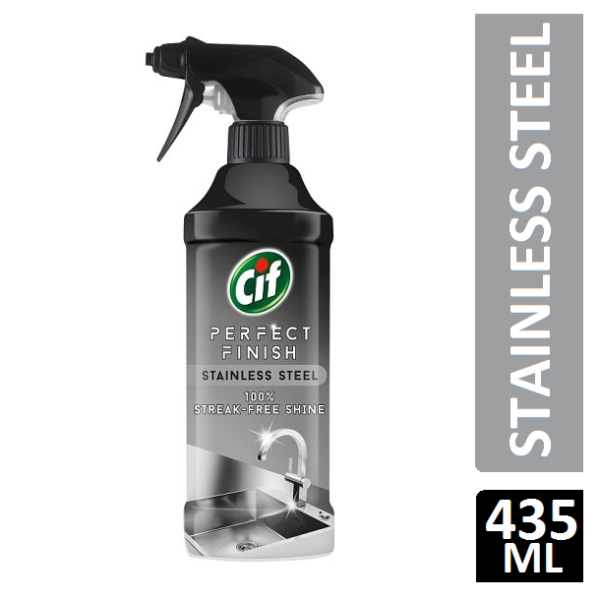 Cif Stainless Steel Spray Cleaner 435Ml