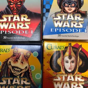 STAR WARS PLASTERS 30 ASSORTED