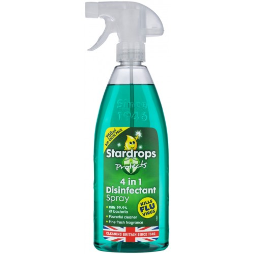 Stardrops 4 in 1 Pine Disinfectant Spray 750ml