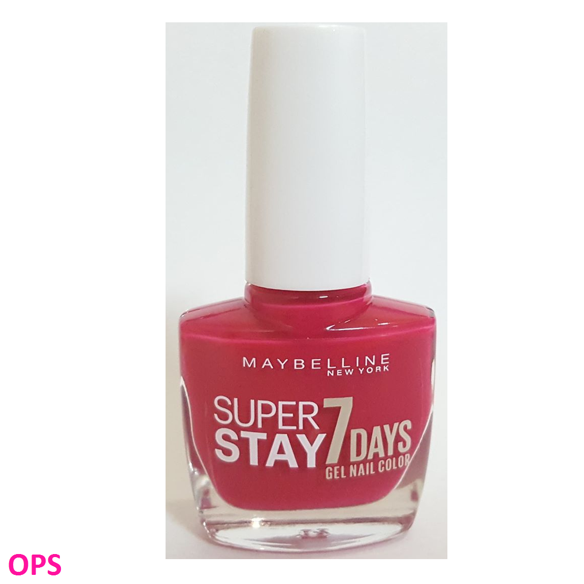 Maybelline NEW YORK SUPERSTAY 7 DAYS GEL NAIL COLOR ROSY PINK