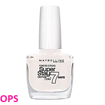 Maybelline NEW YORK SUPERSTAY 7 DAYS GEL NAIL COLOR PUR WHITE