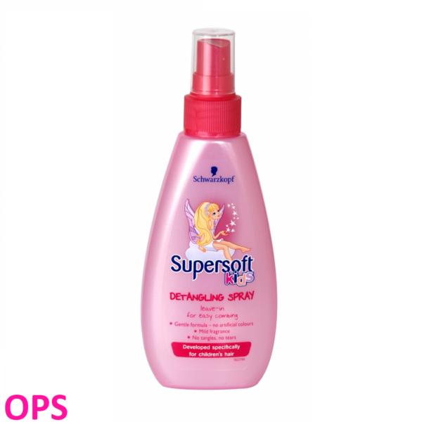 Supersoft kids detangling spray 150ml