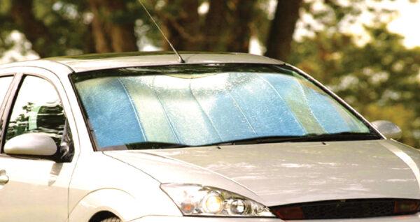 Folding Aluminium Sunshade