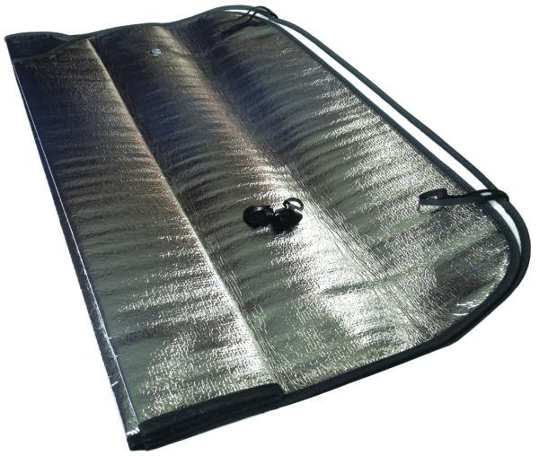 Folding Aluminium Sunshade 140X70cm