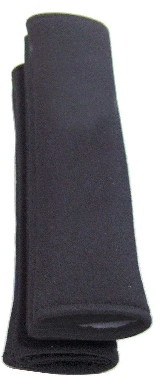 Black Plain Seat Belt Comfort Pads (Pairs)