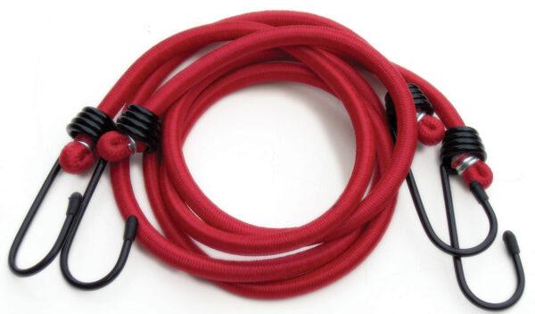 """Pair 36"""" Bungee Elastic- Red"""