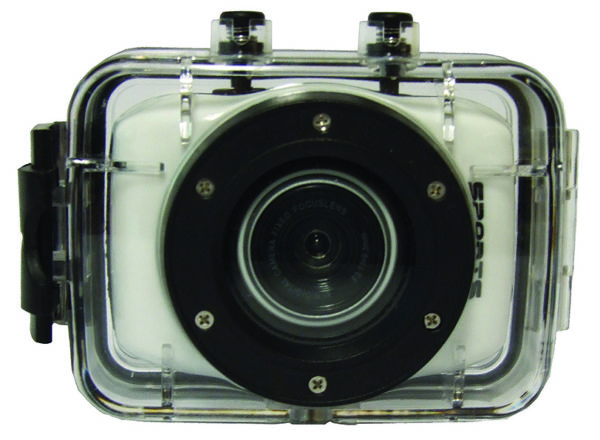 Action Camera with Extended Battery