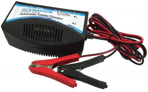 12v Trickle Charge for Gel / Lead Acid Batteries incl.croc clips