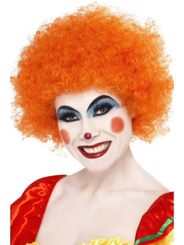 Smiffy's Orange Crazy Clown Wig