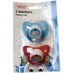 THOMAS & FRIENDS 2 SOOTHERS 0+ MONTH