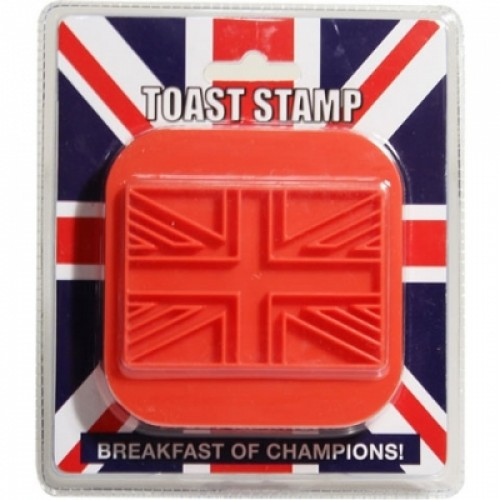 Union Jack Toast Stamp