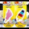 WALL'S ICE CREAM STARSHIP & FUNNY FEET CAR AIR FRESHENER (RETRO)
