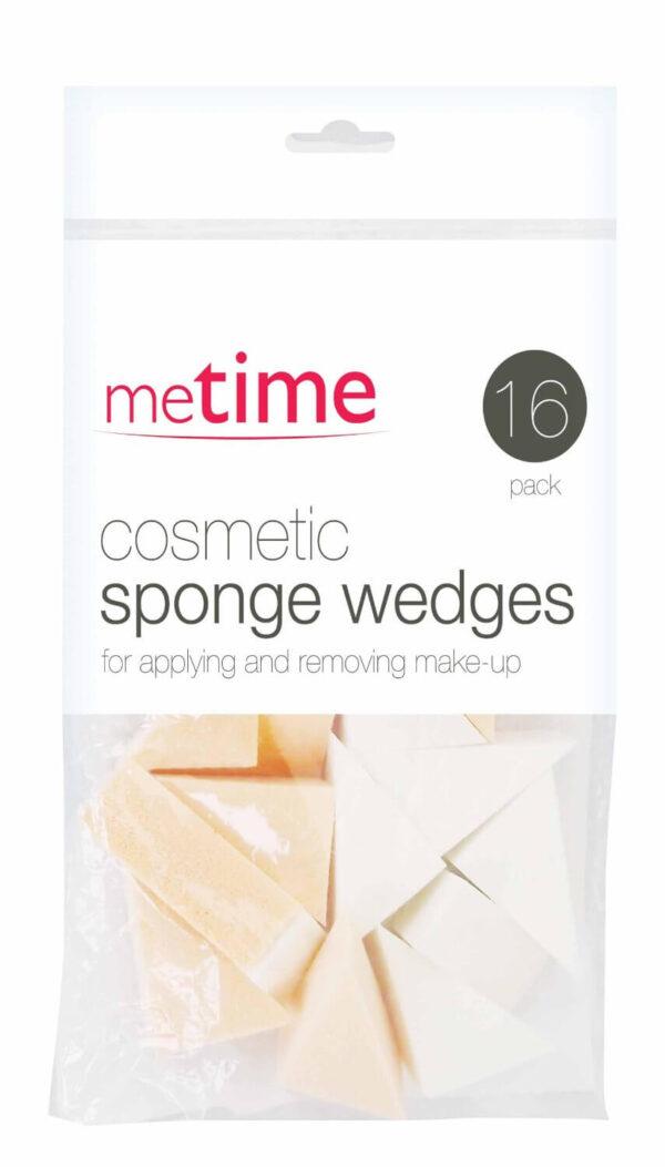 MeTime Cosmetic Sponge Wedges For Applying & Removing Make-up