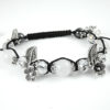 Crystal Ball Bracelet White