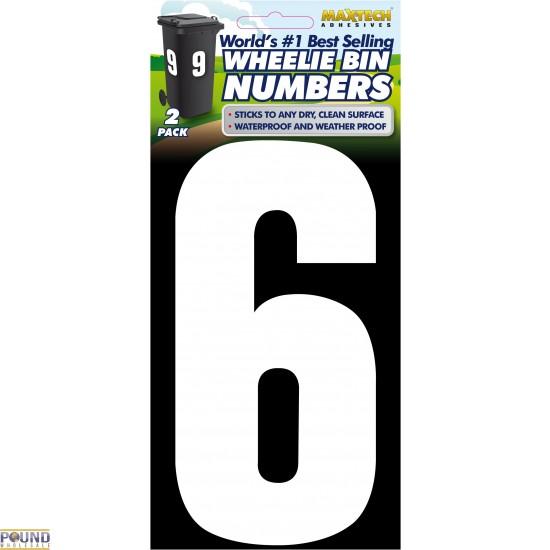 Wheelie Bin Numbers (6)