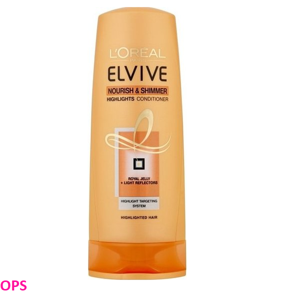 L'oreal Elvive Nourish Shimmer Dry Hair Conditioner 400Ml