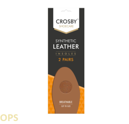 Synthetic Leather Easy Breathe Insoles 2Pairs
