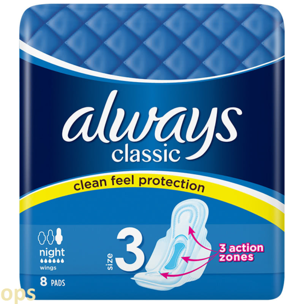 always classic night 8 pads