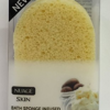 NUAGE SKIN BATH SPONGE INFUSED WITH SHEA BUTTER AND ALMOND
