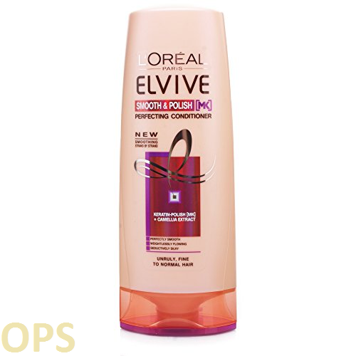 L'Oreal Elvive Smooth & Polish Conditioner for unruly, fine to normal hair