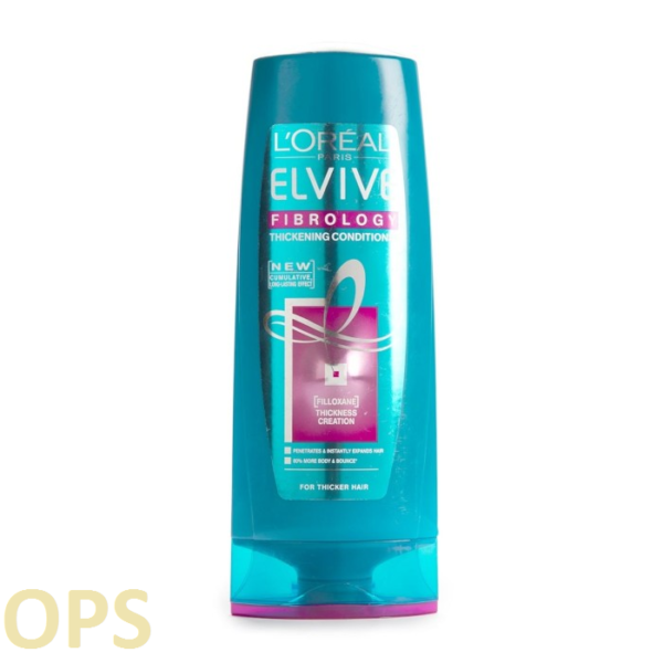 L'Oréal Elvive Fibrology Thickening Conditioner FOR THICKER HAIR 400ml