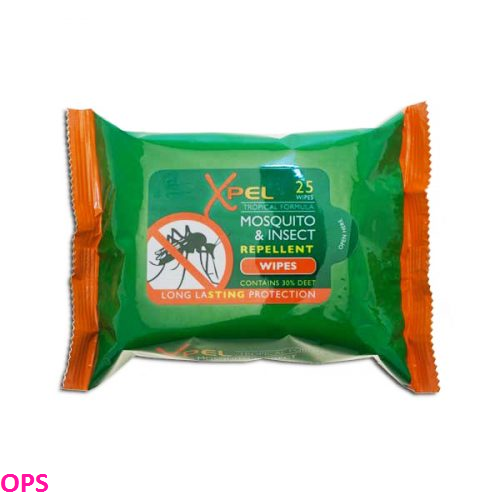 Xpel Mosquito & Insect Repellent Wipes