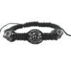 crystal ball bracelet grey