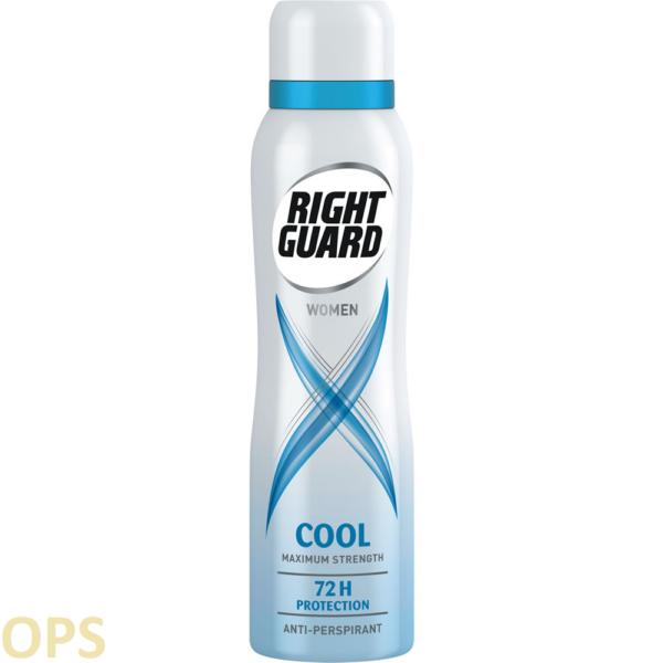 Right Guard Women Cool 72HR Anti-Perspirant 150ml