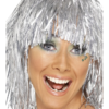 CYBER TINSEL WIG (SILVER)