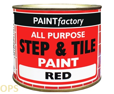 PAINT FACTORY STEP & TILE PAINT RED