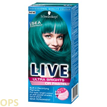 SCHWARZKOPF LIVE 097 SEA MERMAID