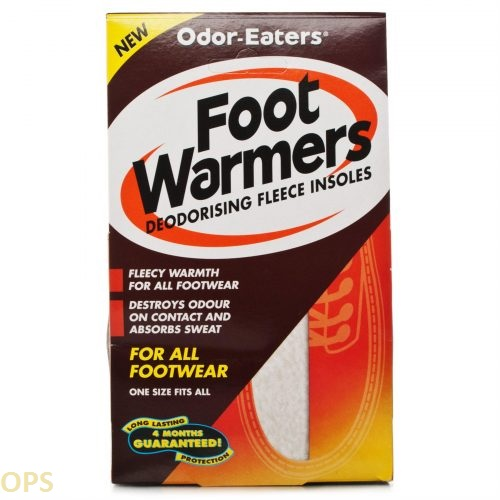 Odor-Eaters Foot Warmers Insoles