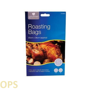 GOURMET COOKING TURKEY ROASTING BAGS 3 PACK