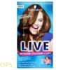 schwarzkopf live L54 LUMINOUS BROWN