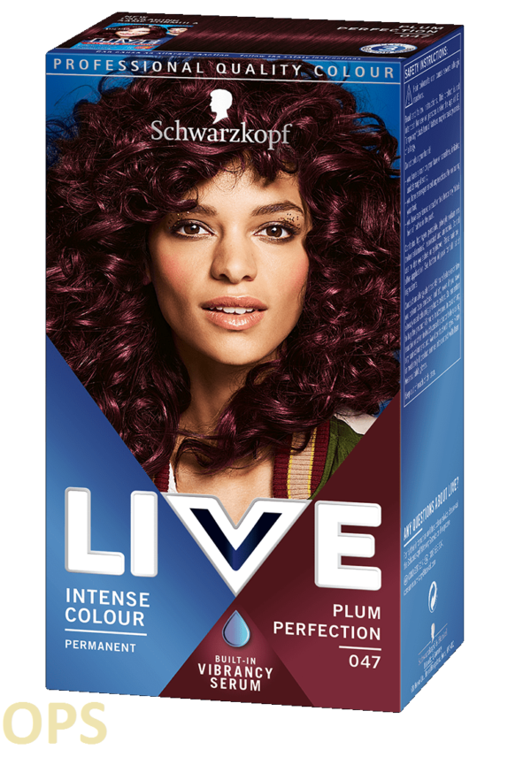 schwarzkopf live 47 PLUM PERFECTION