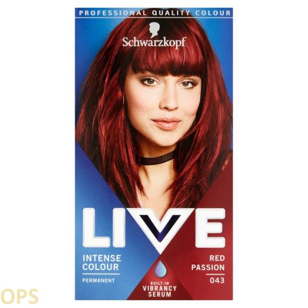 schwarzkopf live 43 RED PASSION