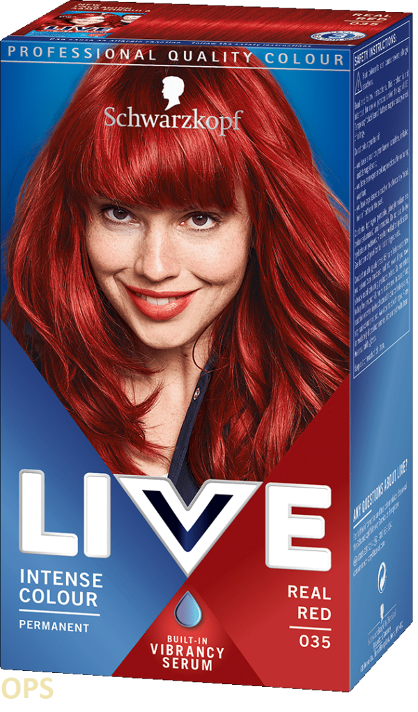 schwarzkopf live 35 REAL RED