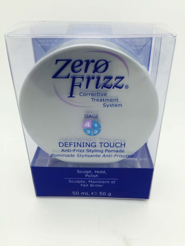 ZERO FRIZZ DEFINING TOUCH ANTI POMADE FIZZ 50ML