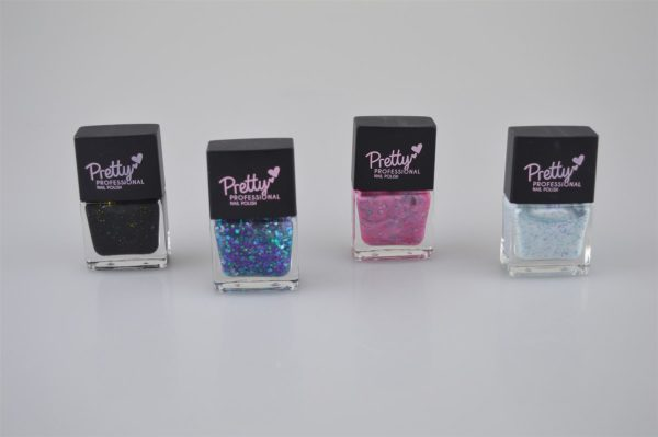 Pretty Professional Galaxy Cluster Collection | 4 x 12ml Bottles Nail Polish