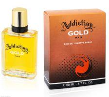 Addiction Gold man Eau De Toilette Spray 50ml