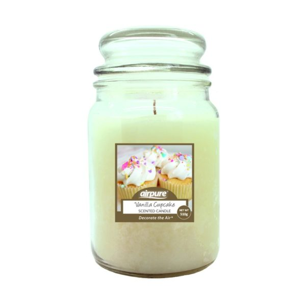 AirPure Vanilla Cupcake Scented Candle 510g