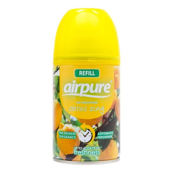 AirPure Refill Air Freshener Citrus Zing 250ml