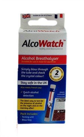 AlcoWatch Alcohol Breathalyser