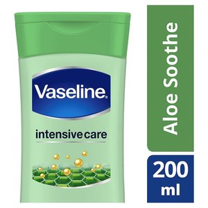 VASELINE ALOE FRESH LOTION 200ML
