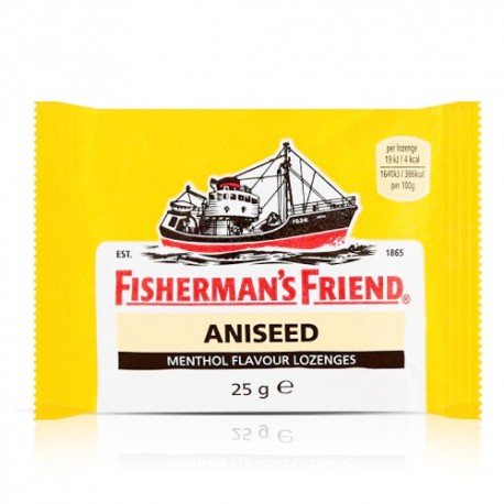 Fisherman's Friend Aniseed & Menthol Lozenges 25g