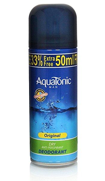 AquaTonic Man Original Dry Antiperspirant Deodorant 200ml