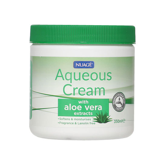 Nuage Aqueous Cream With Aloe Vera 350g